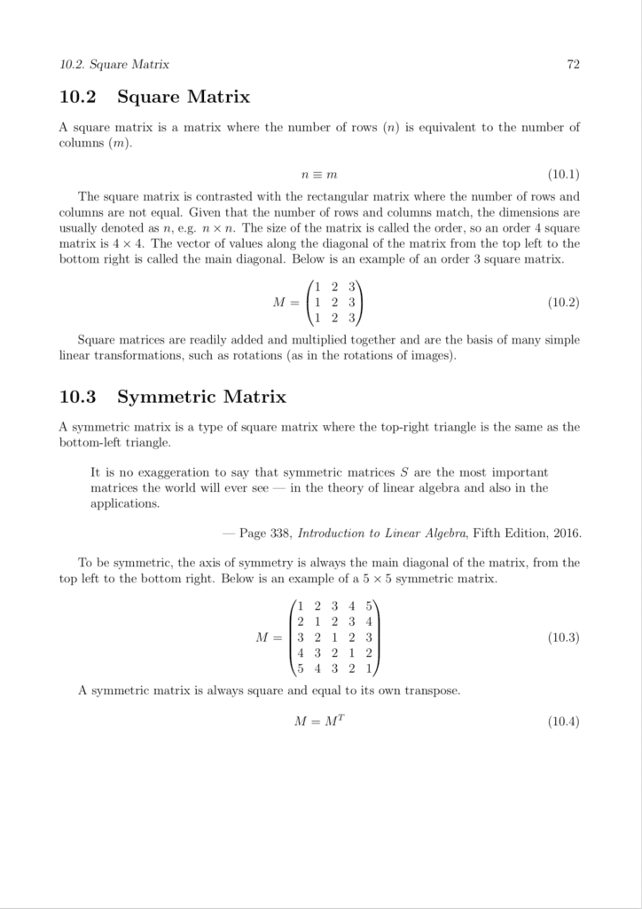 Basics of Linear Algebra for Machine Learning Page 2