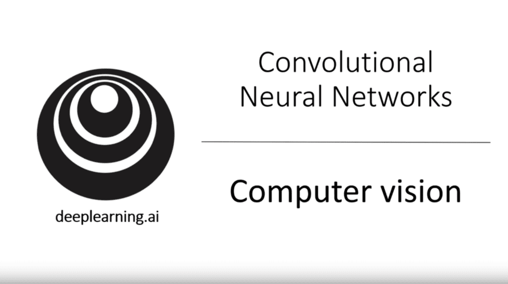 Convolutional Neural Networks - Computer Vision