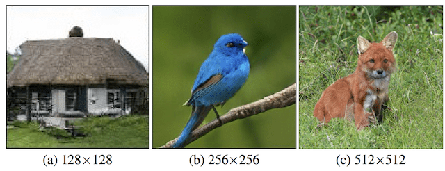 Examples of Large High-Quality Class-Conditional Images Generated by BigGAN